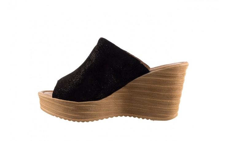 Koturny bayla-100 490 czarny, skóra naturalna  - koturny - dla niej  - sale 2