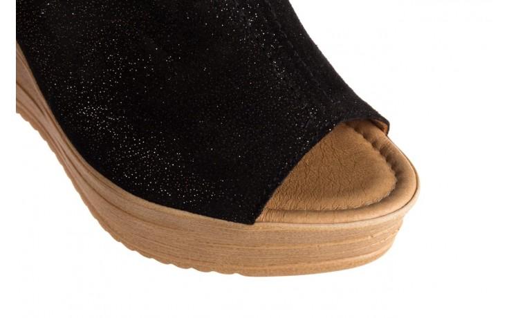 Koturny bayla-100 490 czarny, skóra naturalna  - koturny - dla niej  - sale 5