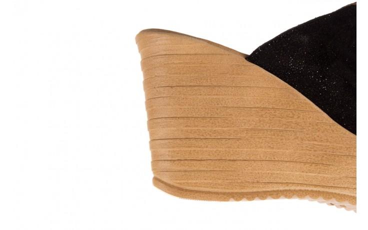 Koturny bayla-100 490 czarny, skóra naturalna  - koturny - dla niej  - sale 6