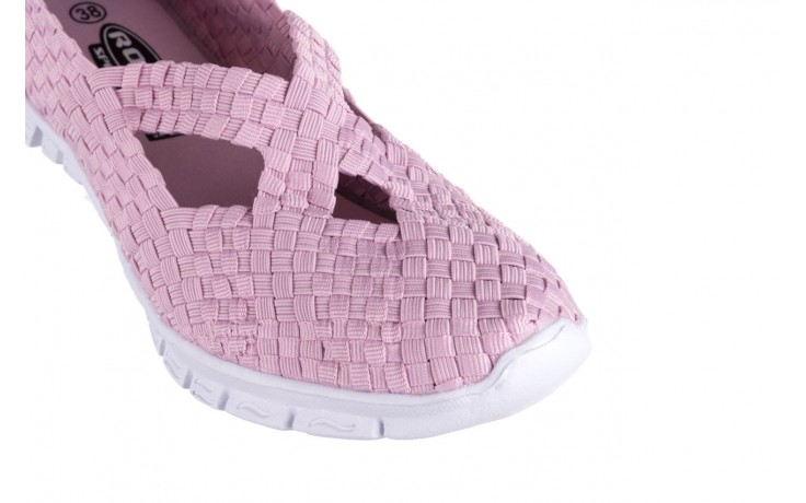 Półbuty rock carioca x dirty pink, róż, materiał - rock - nasze marki 5