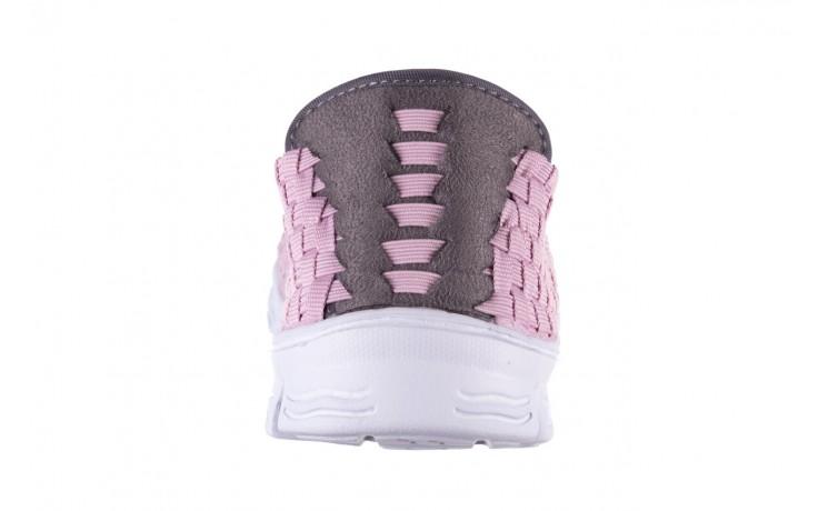 Półbuty rock carioca x dirty pink, róż, materiał - rock - nasze marki 7