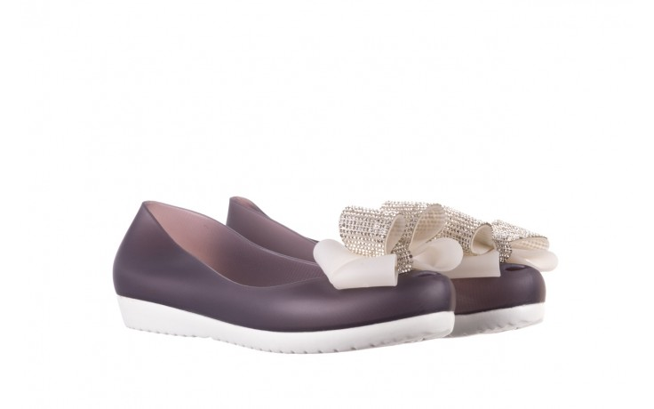 Baleriny sca'viola 871 grey, fiolet, silikon - sca`viola - nasze marki 1