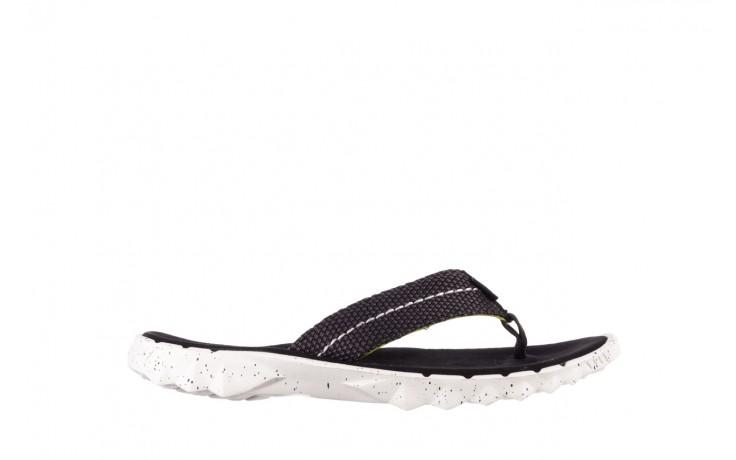 Klapki heydude sava sox black, czarny/ biały, materiał
