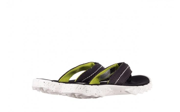 Klapki heydude sava sox black, czarny/ biały, materiał 3