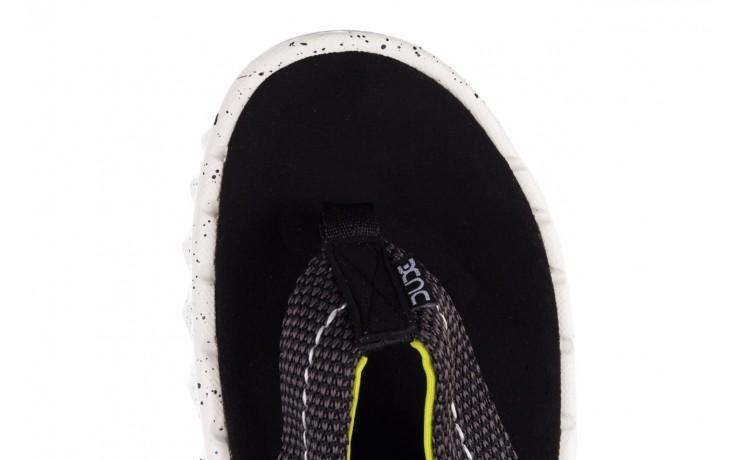 Klapki heydude sava sox black, czarny/ biały, materiał 6