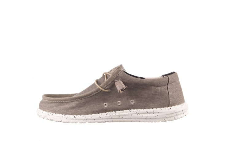 Półbuty heydude wally stretch beige, beż, materiał - sportowe - półbuty - buty męskie - mężczyzna 2