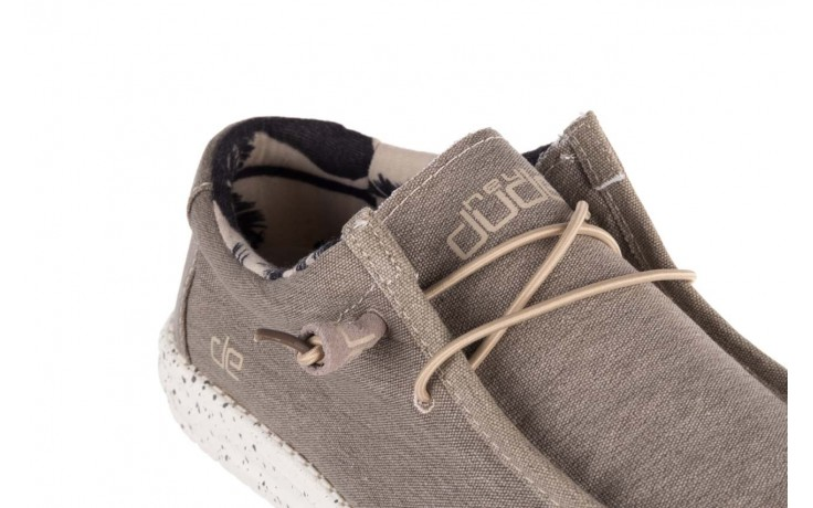 Półbuty heydude wally stretch beige, beż, materiał - sportowe - półbuty - buty męskie - mężczyzna 5