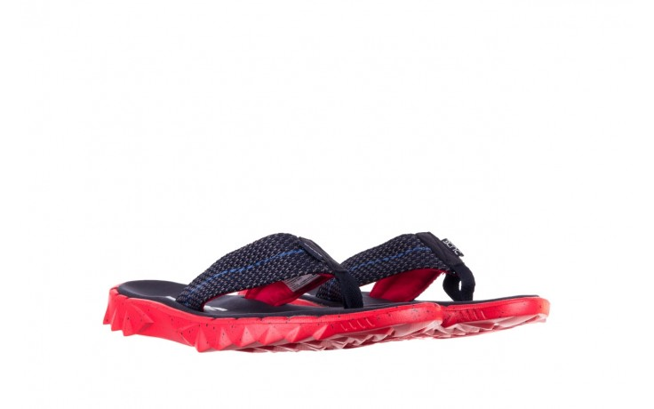 Klapki heydude sava sox blue red, czerwony/ granat, materiał - klapki - buty męskie - mężczyzna 1