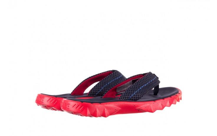 Klapki heydude sava sox blue red, czerwony/ granat, materiał - klapki - buty męskie - mężczyzna 3