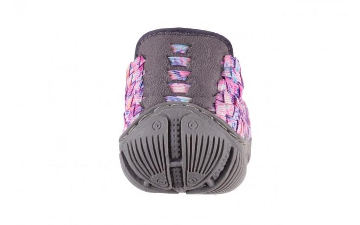 Półbuty rock cape town pink purple smoke, róż, materiał - rock - nasze marki 7