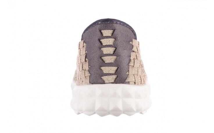 Półbuty rock colair 14 beige gold, złoty/ beż, materiał - półbuty - buty damskie - kobieta 7