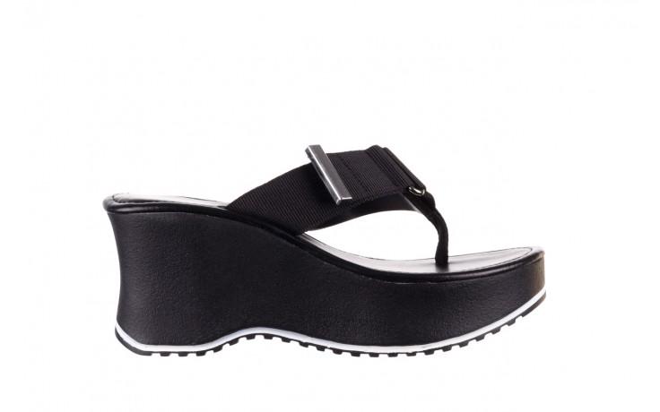 Klapki dijean 479 325 black, czarny, guma - japonki - klapki - buty damskie - kobieta