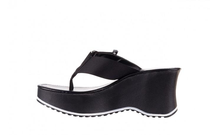 Klapki dijean 479 325 black, czarny, guma - japonki - klapki - buty damskie - kobieta 2