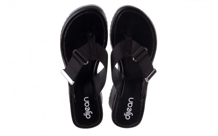Klapki dijean 479 325 black, czarny, guma - japonki - klapki - buty damskie - kobieta 4