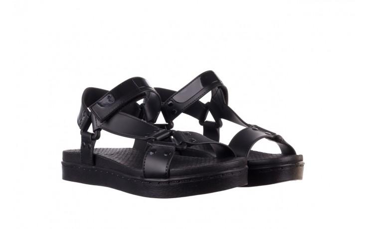 Sandały dijean 286 276 black-black, czarny, guma - mega okazje - ostatnie rozmiary 1