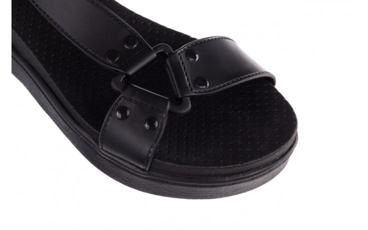 Sandały dijean 286 276 black-black, czarny, guma - dijean - nasze marki 5