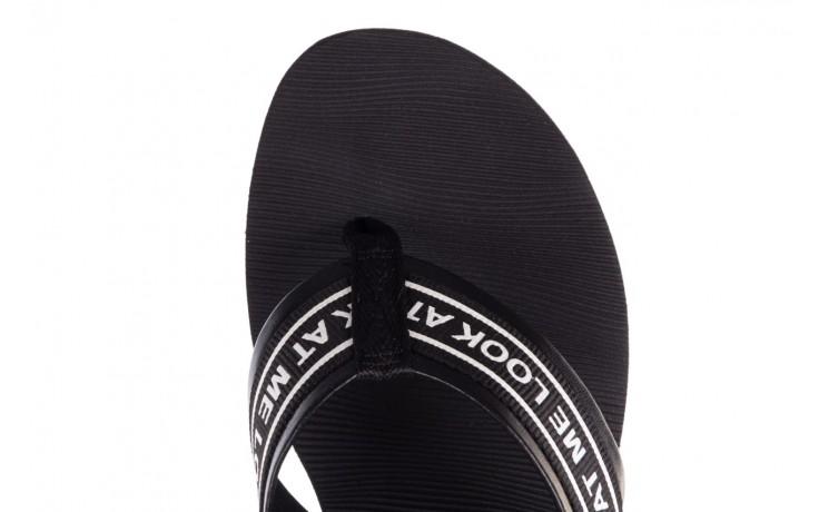 Klapki dijean 296 337 black/white, czarny, guma - dijean - nasze marki 7