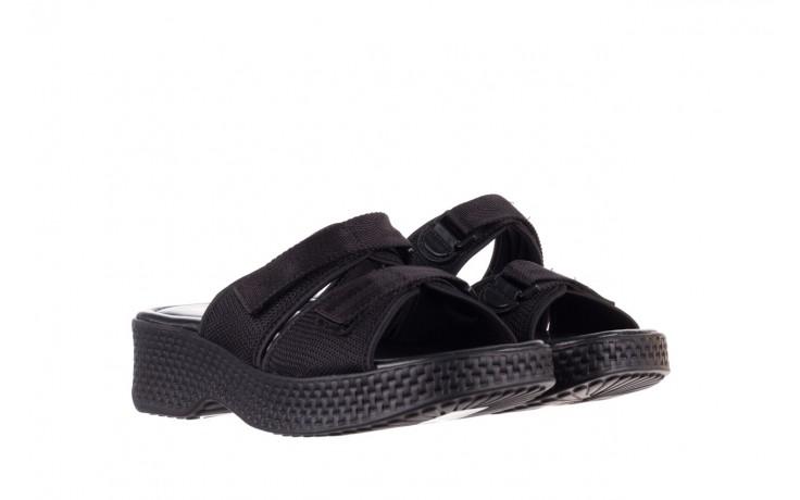 Klapki azaleia 321 291 black, czarny, materiał - azaleia - nasze marki 1