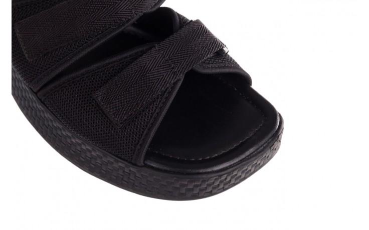 Klapki azaleia 321 291 black, czarny, materiał - azaleia - nasze marki 5