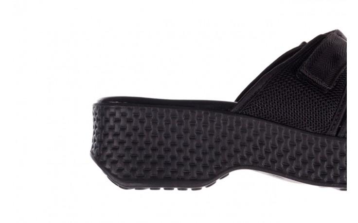 Klapki azaleia 321 291 black, czarny, materiał - azaleia - nasze marki 6