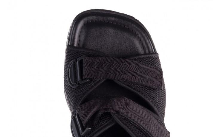 Klapki azaleia 321 291 black, czarny, materiał - azaleia - nasze marki 7