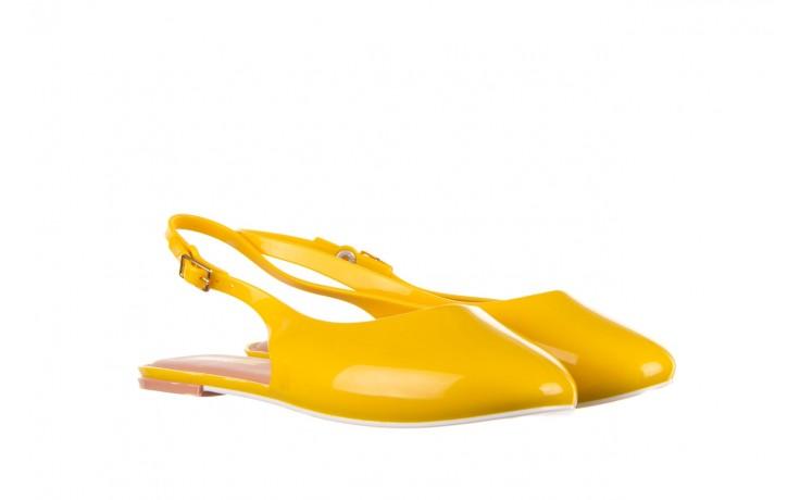 Sandały melissa lipstick ad yellow brown white, żółty, guma  - melissa - nasze marki 1