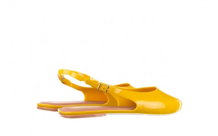 Sandały melissa lipstick ad yellow brown white, żółty, guma  - melissa - nasze marki 3