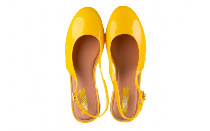 Sandały melissa lipstick ad yellow brown white, żółty, guma  - melissa - nasze marki 4