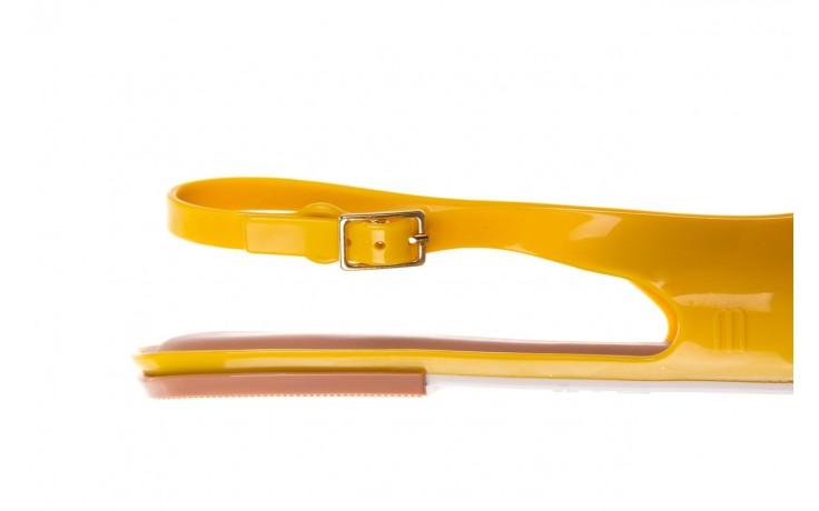 Sandały melissa lipstick ad yellow brown white, żółty, guma  - melissa - nasze marki 7