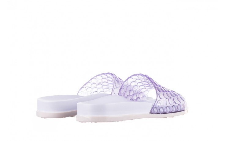 Klapki melissa polibolha slide ad white clear, biały, guma - dla niej  - sale 3