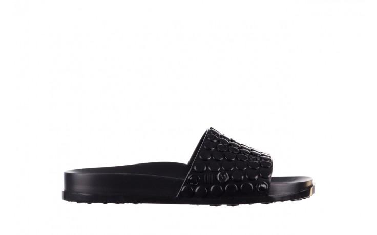 Klapki melissa polibolha slide ad black, czarny, guma - gumowe/plastikowe - klapki - buty damskie - kobieta