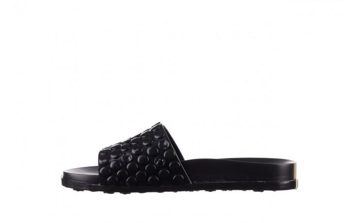 Klapki melissa polibolha slide ad black, czarny, guma - gumowe/plastikowe - klapki - buty damskie - kobieta 2