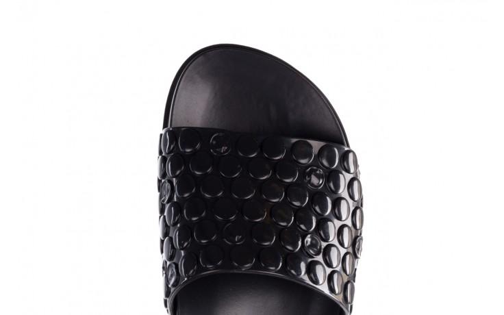 Klapki melissa polibolha slide ad black, czarny, guma - gumowe/plastikowe - klapki - buty damskie - kobieta 7