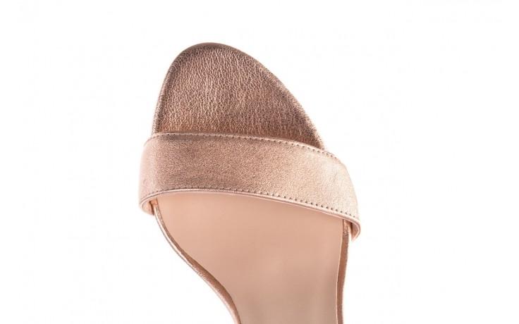 Sandały bayla-056 9177-1480 róż perła, skóra naturalna  - na obcasie - sandały - buty damskie - kobieta 6