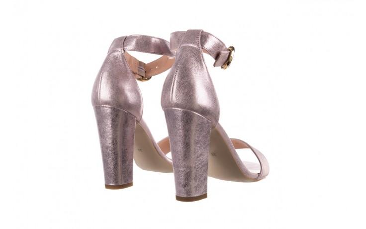 Sandały bayla-056 8024-994 lila perła, skóra naturalna 3