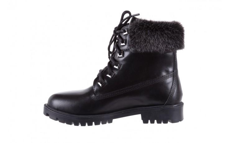 Trzewiki bayla-164 tim 5203 black 164003, czarny, skóra naturalna  - trzewiki - buty damskie - kobieta 2