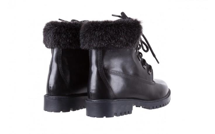 Trzewiki bayla-164 tim 5203 black 164003, czarny, skóra naturalna  - trzewiki - buty damskie - kobieta 3