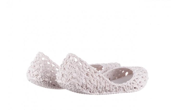 Baleriny melissa campana crochet ad white, biały, guma - baleriny - melissa - nasze marki 3