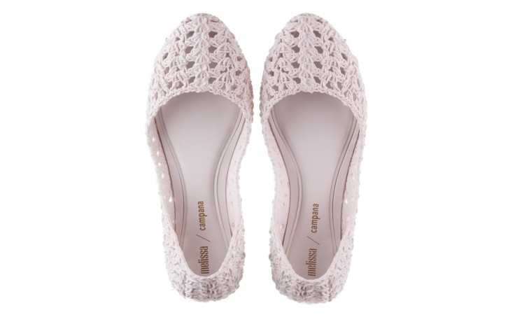 Baleriny melissa campana crochet ad white, biały, guma - baleriny - melissa - nasze marki 4