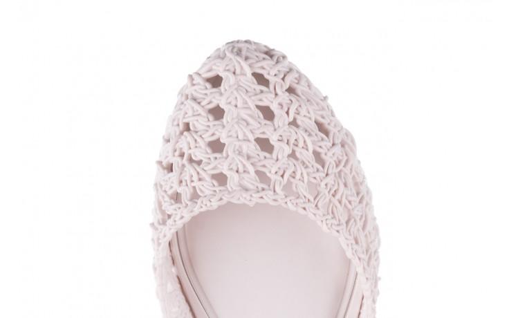 Baleriny melissa campana crochet ad white, biały, guma - baleriny - melissa - nasze marki 6