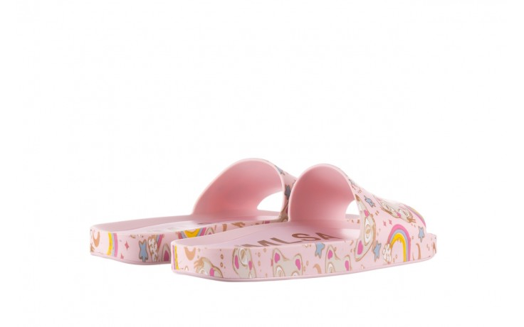 Klapki melissa beach slide 3db iv ad pink gold, róż, guma - gumowe/plastikowe - klapki - buty damskie - kobieta 3