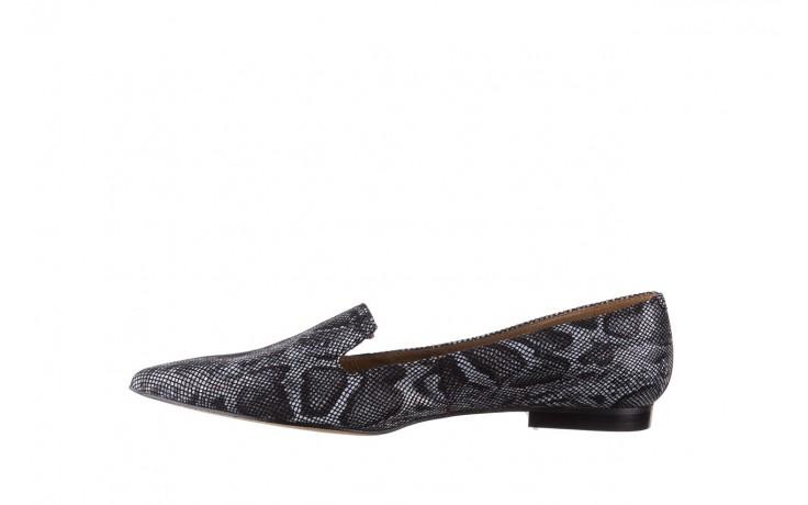 Półbuty bayla-188 001 jaszczurka szary, skóra naturalna - mokasyny i lordsy - półbuty - buty damskie - kobieta 2