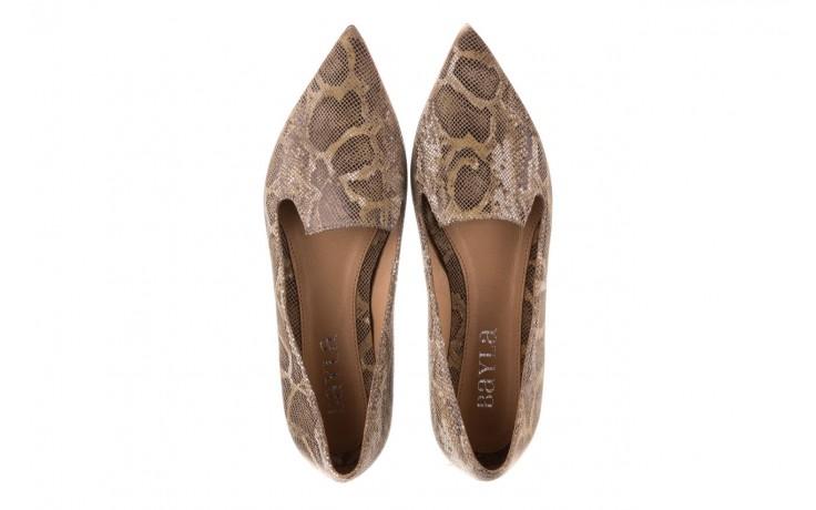 Półbuty bayla-188 001 jaszczurka beż, skóra naturalna  - mokasyny i lordsy - półbuty - buty damskie - kobieta 4