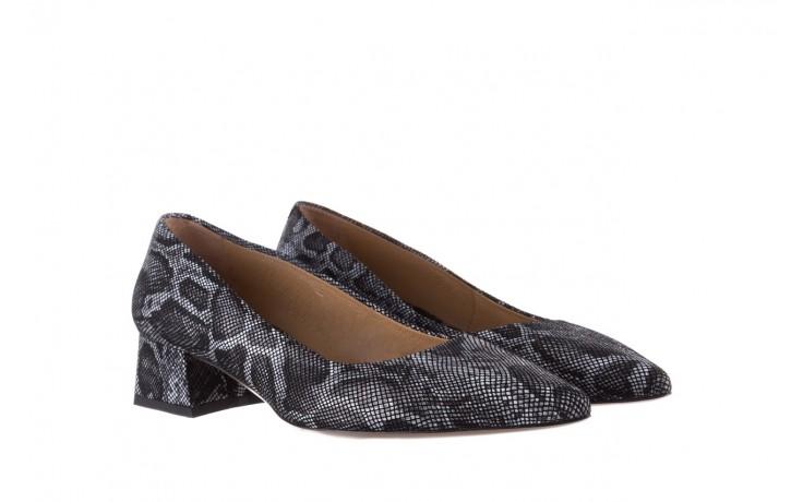 Czółenka bayla-188 002 jaszczurka szary, skóra naturalna  - czółenka - buty damskie - kobieta 1