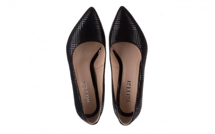 Czółenka bayla-188 003 czarny, skóra naturalna  - czółenka - buty damskie - kobieta 4