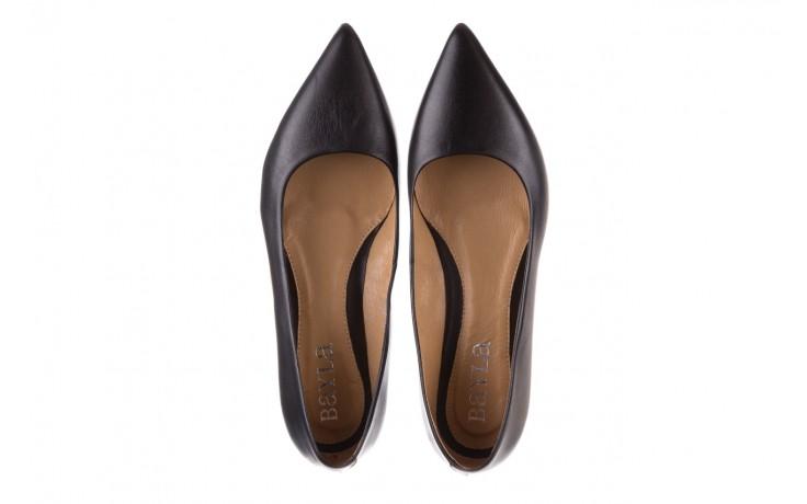 Czółenka bayla-188 002 czarny, skóra naturalna  - skórzane - czółenka - buty damskie - kobieta 4