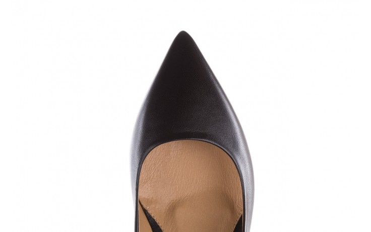 Czółenka bayla-188 002 czarny, skóra naturalna  - skórzane - czółenka - buty damskie - kobieta 6