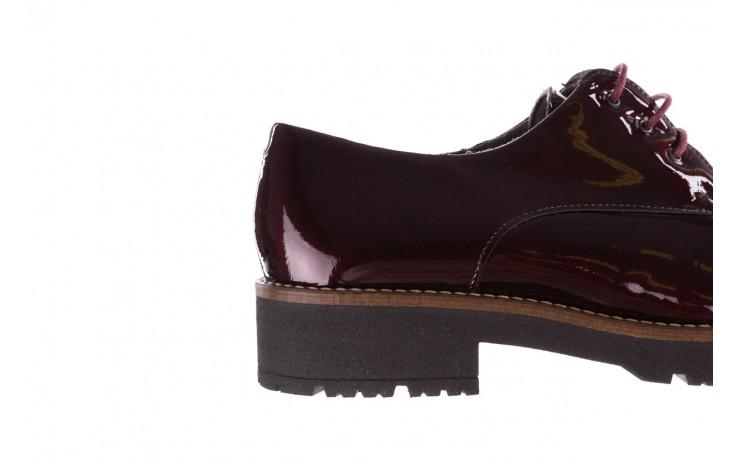 Półbuty pitillos 5790 burdeos, bordowy, skóra naturalna lakierowana  - na obcasie - półbuty - buty damskie - kobieta 9