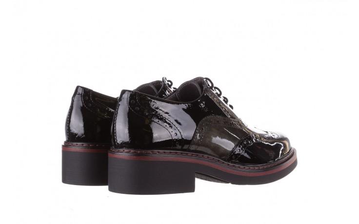 Półbuty pitillos 5821 negro-verd, czarny, skóra naturalna lakierowana - półbuty - buty damskie - kobieta 3