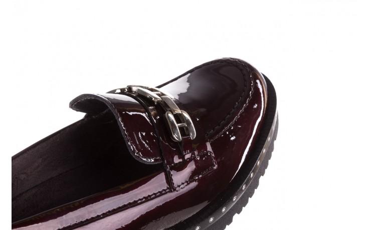 Półbuty pitillos 5811 burdeos, bordowy, skóra naturalna lakierowana - półbuty - buty damskie - kobieta 6